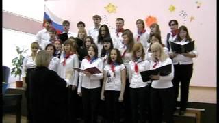 Академический хор КФ ПетрГУ- Oh Tannenbaum (15.10.11)