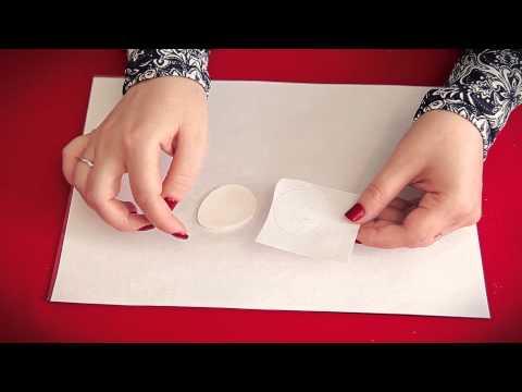 Как перенести изображение на полимерную глину. Мастер-класс. Пасхальный магнит с енотом.