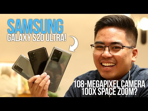Samsung Galaxy S20 Hands-on Philippines: 108MP camera with 100x zoom!