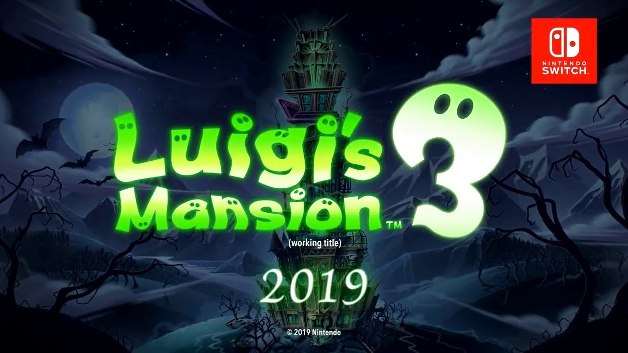 Luigi's Mansion 3 OFFICIAL REVEAL TRAILER (Switch)
