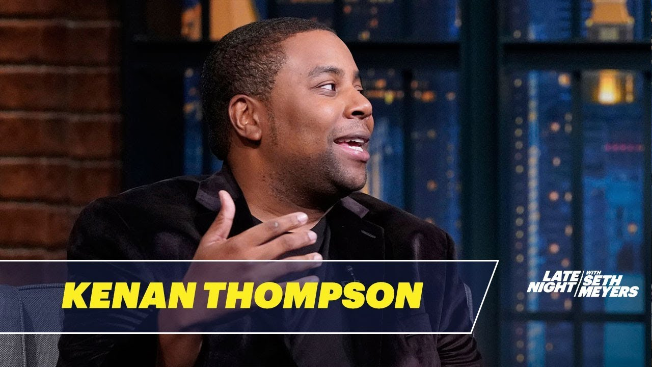 new styles 0a500 08bde Kenan Thompson on Kanye West s  SNL  Appearance (Video)