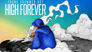 Young Drummer Boy - Lights Out (Feat. King Lil G) (With Lyrics On Screen)-High Forever 2015