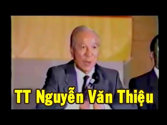 Tổng thống VNCH Nguyễn Văn Thiệu trả lời về 16 tấn vàng
