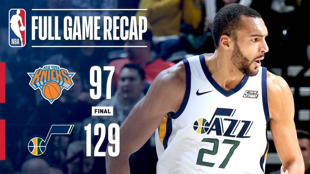 ec6c1807b09 Full Game Recap  Knicks vs Jazz