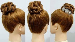 Easy Twist Hair Bun Tutorial เกล้าผมมวยสูงแบบง่ายๆ ภายใน 5 นาที โดย ภัครา ปิติปฐมสิน
