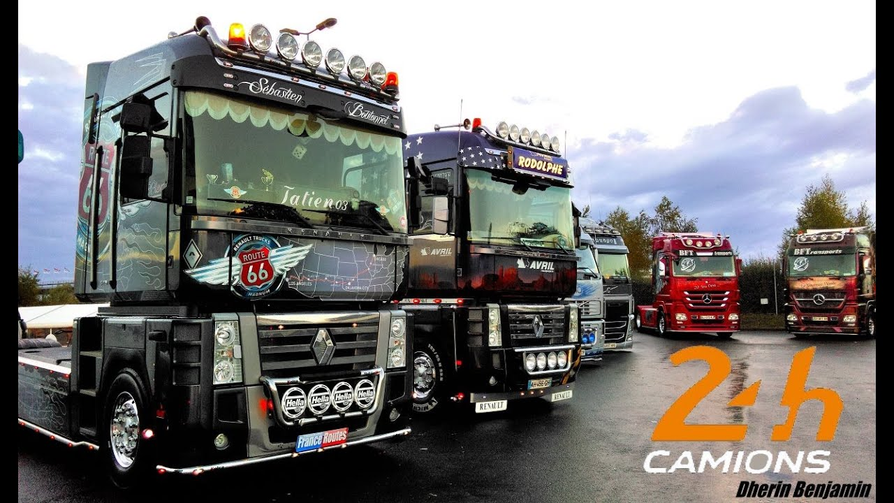 24h du mans camion 2014 truck show camions d cor s youtube. Black Bedroom Furniture Sets. Home Design Ideas
