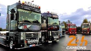 24H du Mans camion / Truck Show, Défilé de camions décorés [Part1]