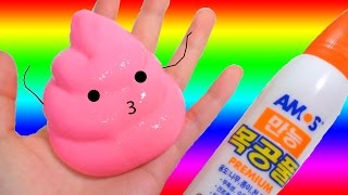 How To Make Pink Clay Slime! DIY