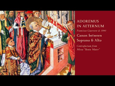 """EQUAL VOICES (Rehearsal Video) • """"Adoremus in Aeternum"""" Canon by Guerrero"""
