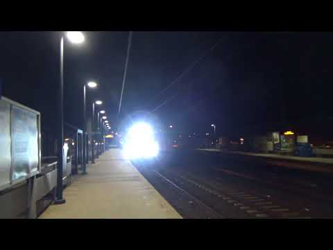 *MEGA RARE* Late Night Railfanning in Fairfield with Amtrak/SLE equipment extra!