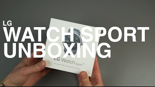 LG Watch Sport Unboxing and Tour!