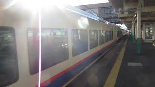 JR東日本E653系「特急しらゆき1号」新潟行きが新津駅を発車