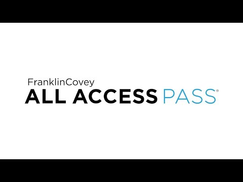 FranklinCovey All Access Pass