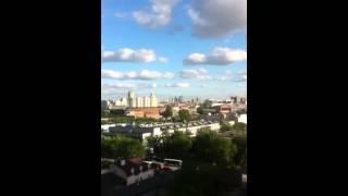 МФК ВОДНЫЙ корпус 2(Вид из окон 2-ух комнатных апартаментов на 10 этаже. Сторона света Юг., 2014-05-13T15:45:44.000Z)