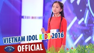 vietnam idol kids - than tuong am nhac nhi 2016 - tap 2 - oi que toi - wendy
