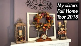 My Sisters Fall Home Tour 2018