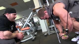 Flex Lewis & Milan Šádek - Chest workout