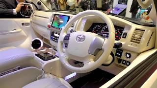 TOYOTA HIACE 200 Custom Buan 200系 ハイエース カスタム 舞杏 大阪オートメッセ2017 thumbnail