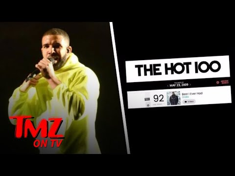 Drake Isn't On The Billboard Hot 100 For The First Time In 8 YEARS! | TMZ TV