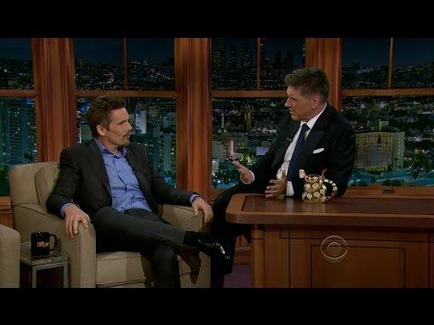 Late Late Show with Craig Ferguson 10/1/2012 Ethan Hawke, Lynyrd Skynyrd