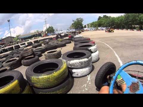 Sony HDR-AS30V action camera - Go-kart ride in Batam
