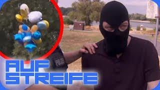 Vom Winde verweht - Ballons mit Absicht abgeschnitten! | Auf Streife | SAT.1