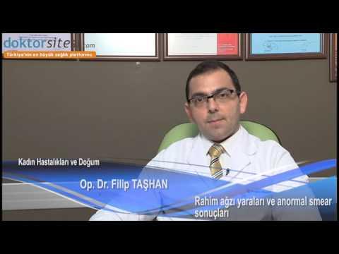 Rahim ağzı yaraları ve anormal smear sonuçları