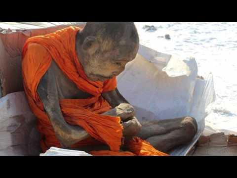 200-Year-Old Mummified Buddhist Monk is 'Not Dead' Just Meditating