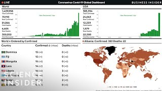 Coronavirus Live Tracker Of COVID-19 Cases Worldwide, April 8
