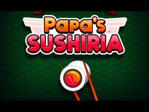 Papa's Sushiria Full Gameplay Walkthrough