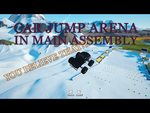 Car jump arena but in the wrong game - main assembly gameplay |