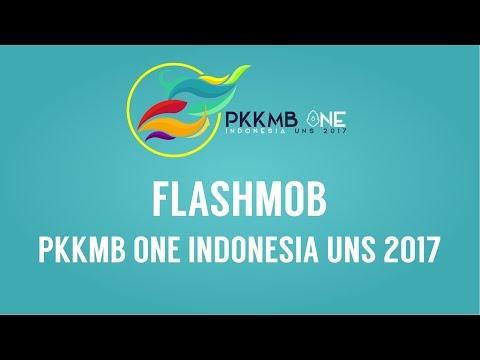 "Flashmob PKKMB ""One Indonesia"" UNS 2017"