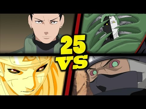 Warcraft III: TFT - Naruto Battle Royal - 25 - Shikamaru, Minato vs Zetsu, Kakuzu
