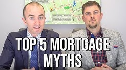 Mortgage Home Loan MYTHS 2019 | Top 5 Mortgage Myths When Buying a Home