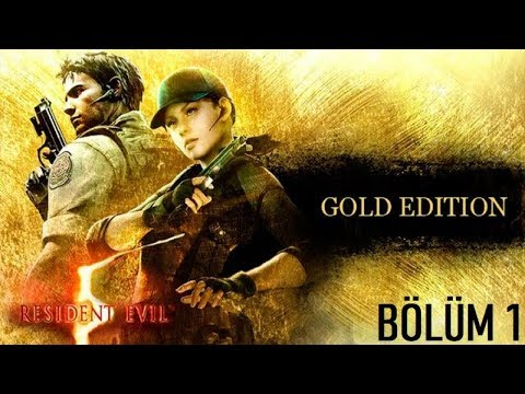 Resident Evil 5 Gold Edition Türkçe (Part 1) Kudurmuş Köpekler