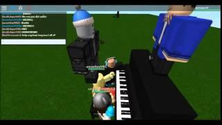 Amazing roblox piano playing