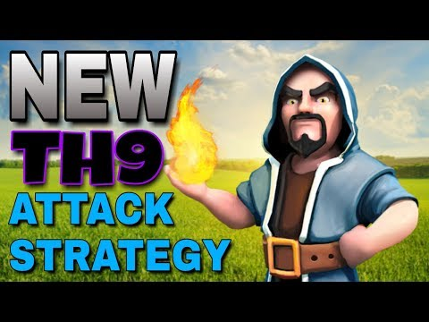 New TH9 Attack Strategy Smashing Bases | The Fabi | DL