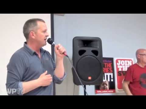 Fighting the Troika & austerity across Europe - Christine Buchholz and Richard Boyd Barret