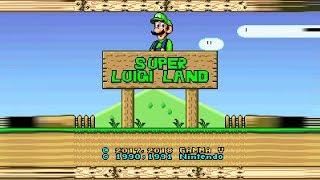 Super Luigi Land (Demo) • Super Mario World ROM Hack