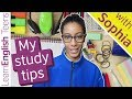 My study tips