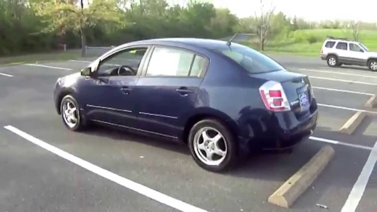 2007 Nissan Sentra Blue Youtube