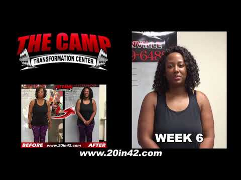 Jacksonville FL Weight Loss Fitness 6 Week Challenge Results - Toria M.
