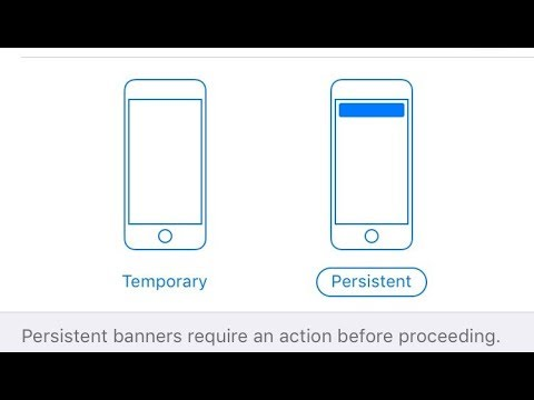 iOS 11's New Persistent Option For Notifications