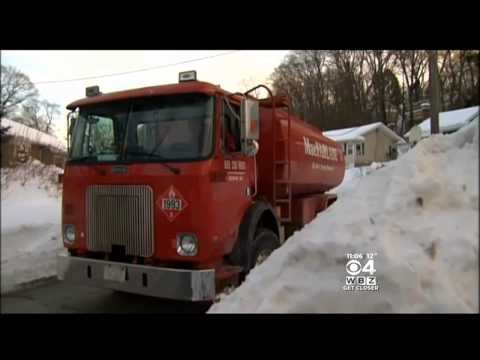 Snow Makes Oil Deliveries More Difficult In Boston Area