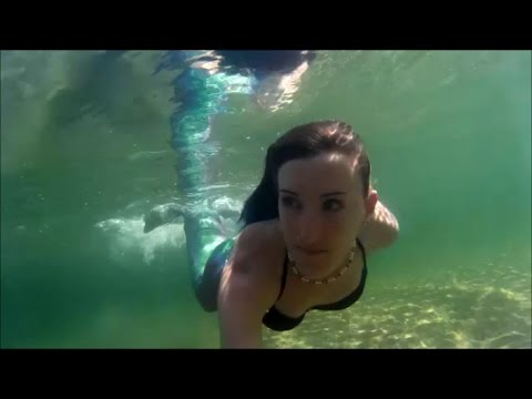 Mermaiding In Lake Willoughby Vt Youtube