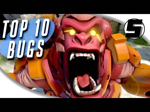 TOP 10 MOST RAGE INDUCING BUGS IN OVERWATCH