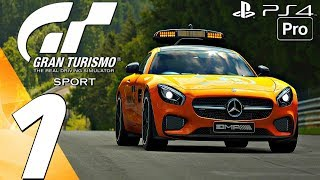 Gran Turismo Sport - Online Gameplay Session Part 1 - First Races (PS4 PRO)