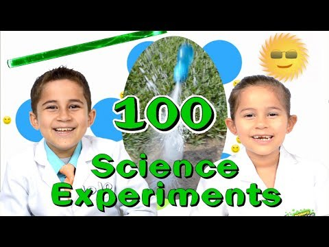 100 Science Experiments Highlights JoJo's Science Show