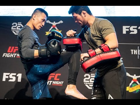 UFC Denver: 'Korean Zombie' Open Workout Highlights - MMA Fighting