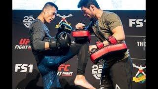 UFC Denver: 'Korean Zombie' Open Workout Highlights - MMA Fighting